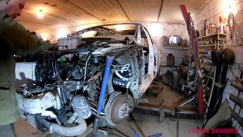 64 [Audi A4 B8] Полный кузовной ремонт. Body repair