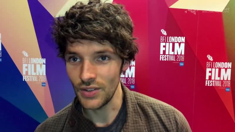 COLIN MORGAN on playing the lead role in BENJAMIN _ BFI London Film Festival 2018