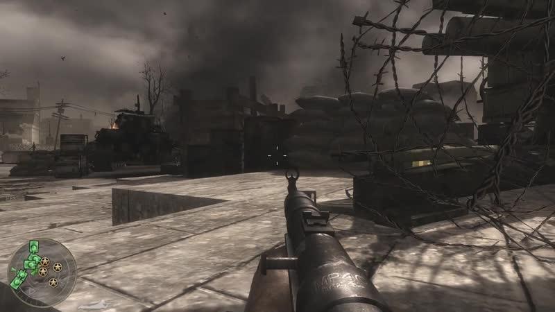 Call of Duty: World at War. Мы постараемся быть Тише воды, ниже травы . (18) 9