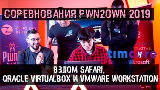 Соревнования Pwn2Own 2019 и взлом Safari, Oracle Virtualbox, VMware Workstation   Timcore