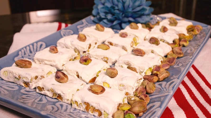 How to make Pistachio Nougat (Assyrian Food)