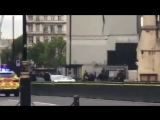 Parliament crash VIDEO Watch as armed police swoop after car crashes into Westminster