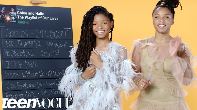 Chloe x Halle Create the Playlist to Their Lives Teen Vogue смотреть онлайн без регистрации