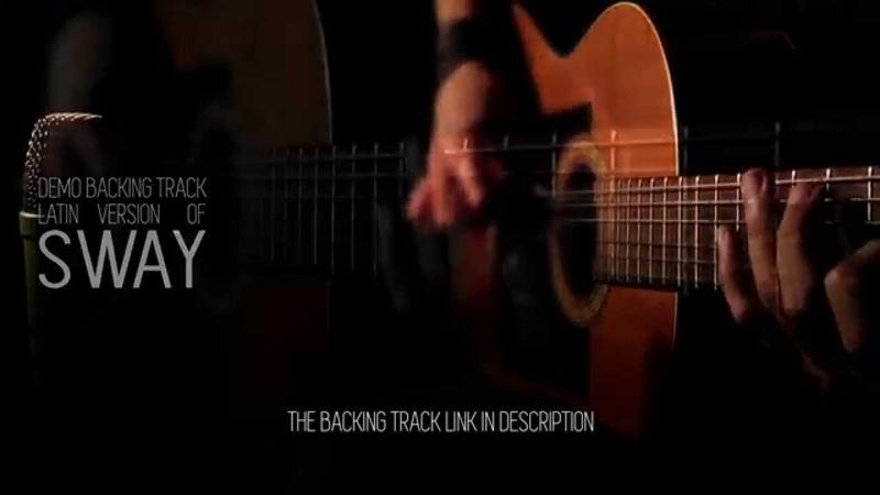 Sway latin demo guitar backing track