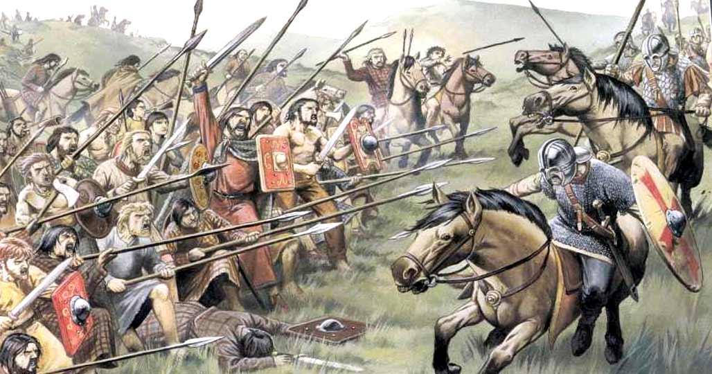 Кельты в боях