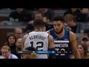Миннесота Тимбервулвз - Сан-Антонио Спёрс Обзор матча НБА 19/01/2019
