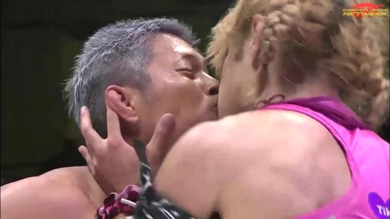 Naruki Doi Jason Lee El Bandido vs KAGETORA Yosuke Santa Maria La Flamita Dragon Gate Kobe Pro Wrestling Festival 2018