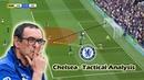Maurizio Sarri at Chelsea Tactical Analysis Positives Negatives