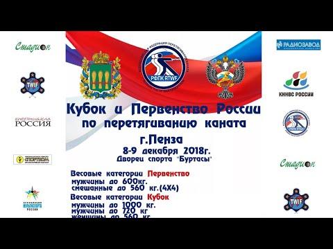 Первенство и Кубок России по перетягиванию каната 2018, г. Пенза