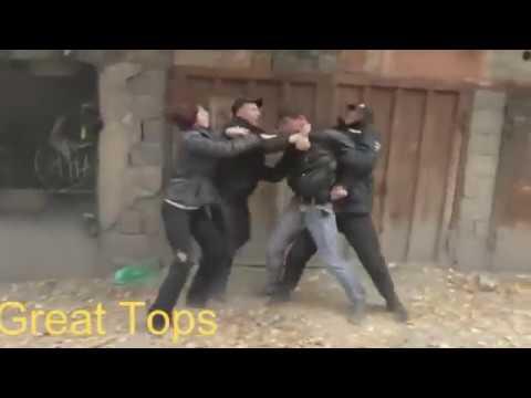 ПОДБОРКА | Нападения на полицейских - Great Tops