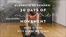 Breathwork Inversion Prep with Aubry Wiltcher - Elements of Summer: 30 Days of Mindful Movement