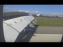 HD Lufthansa Airbus A380 Wing View Economy Class Frankfurt Airport to Los Angeles