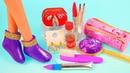 11 DIY Barbie Hacks and Crafts ~ Barbie Shoes