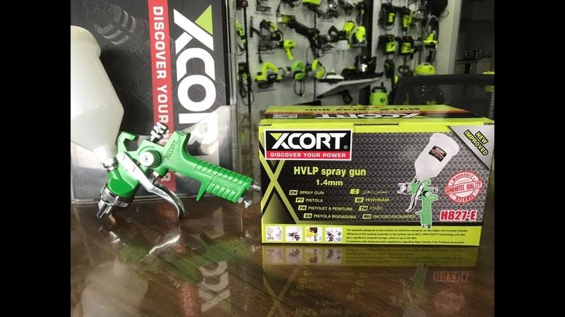 XCORT power tools H827-E HVLP spray gun China power tools not bosch makita