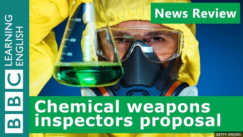 BBC News Review New proposal for chemical weapons inspectors