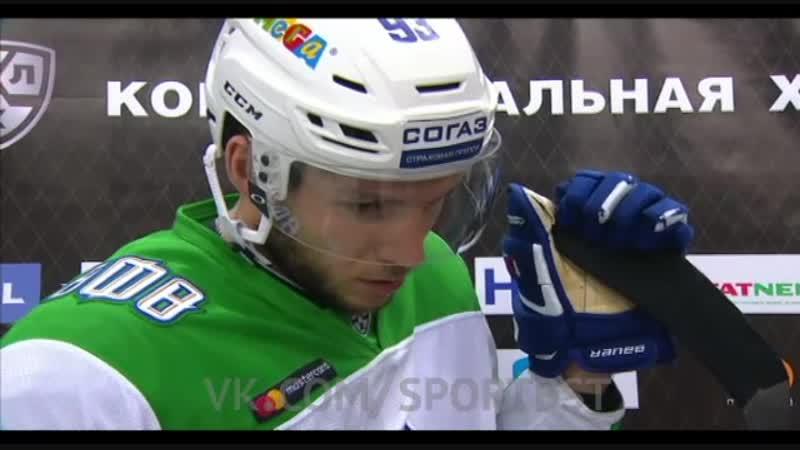 Какой игры ждали юлаевцы от казанцев прокомментировал защитник Салавата Юлаева Артем Сергеев.
