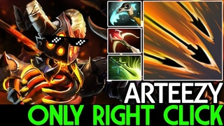 Arteezy [Clinkz] Only Right Click! Raid Boss 20 Kills 7.18 Dota 2