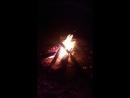 Ночной костер на Белом море Онега море ночь