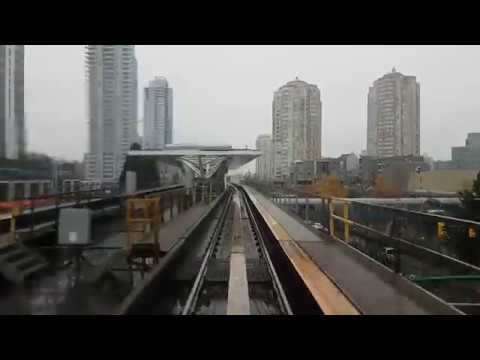Vancouver SkyTrain Royal Oak to Stadium