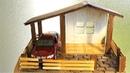 Миниатюрный ДОМИК своими руками из картона / DIY Miniature