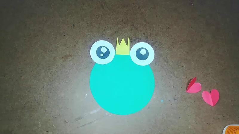 Cute Frog Prince Idea | DIY Frog Prince | Easy Origami