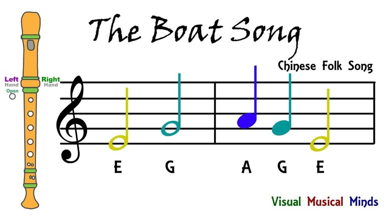 VMM Recorder Song 6 The Boat Song