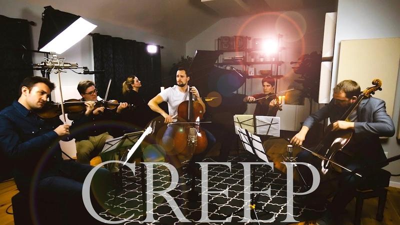 Creep - Radiohead (Cello Piano String Quartet Cover) - Brooklyn Duo feat. Escher Quartet