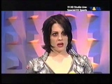 The Distillers Interview + Live VIVA Interaktiv German TV Brody Dalle 2004 Oomph