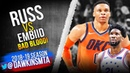 Russell Westbrook vs Joel Embiid INTENSE Duel January 19, 2019 - NASTY Foul By Embiid! | FreeDawkins