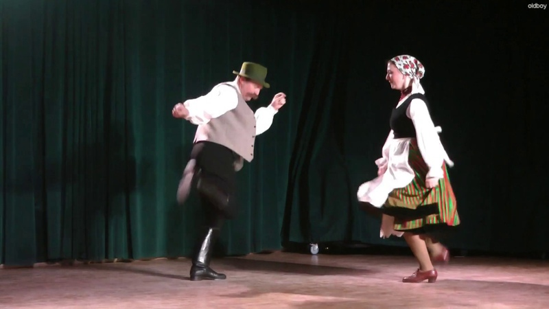 Mezőkölp nyi táncok Szabó Szilárd s leánya Rubinka