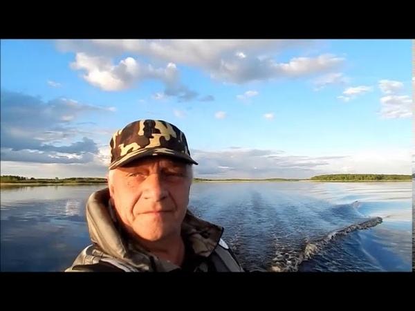 По реке Ягорба и Колманскому озеру