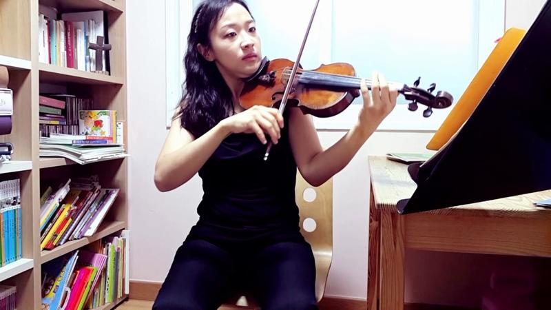 [CCM] 하나님이시여 바이올린 연주-바이올린 김민정-바이올린배우기-바이올린4