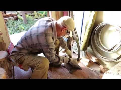 Изготовление кольца для кадушки
