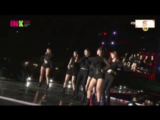 180901 CLC  - BLACK DRESS @ 2018 Incheon K-POP Concert