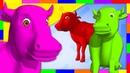 Pinta y Limpia a La Vaca Lola | Aprende los Colores en La Granja de Zenón | A Jugar