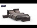 MOON 1107 - Кровать с регулируемым изголовьем
