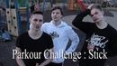 Parkour Challenge : Stick or Lick