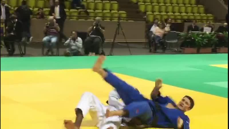 Росгвардеец из Карачаево-Черкесии стал обладателем золотой медали на международном турнире по дзюдо в Монако