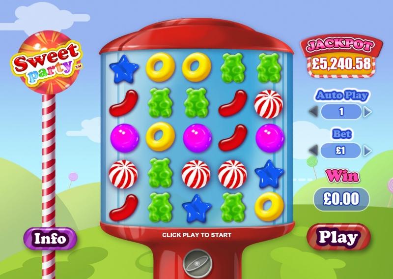 Мульти гаминатор: Игровые автомат Sweet Party