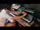 Live AmbientAcidElectronica - Alone Together - System 8, MX1, Deluge, MS20 Mini, Microbrute