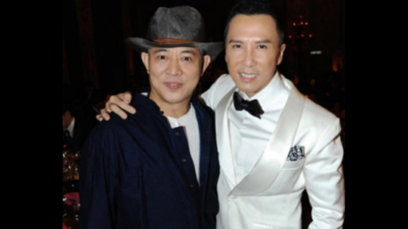 Jet Li vs Donnie Yen