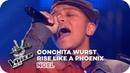 Conchita Wurst Rise Like A Phoenix Noël Blind Auditions The Voice Kids 2016 SAT 1