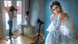 Window Light Indoor Photoshoot in Home Studio, Behind the Scenes