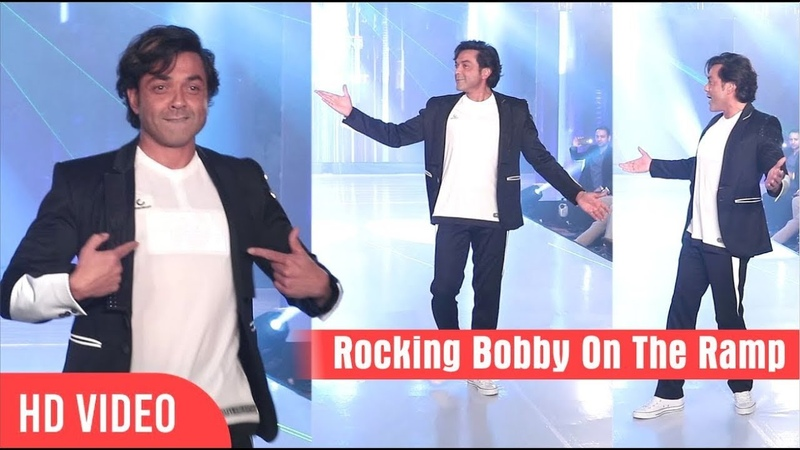 Bobby Deol Turns Showstopper at Tech Fashion Tour 2018 | Housefull 4
