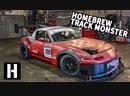 Доморощенный трековый монстр Mazda Miata. Быстро построенный Франкенштейн BMIRussian