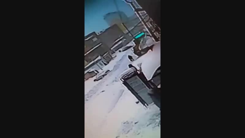 смертельное ДТП со снегоуборочным трактором