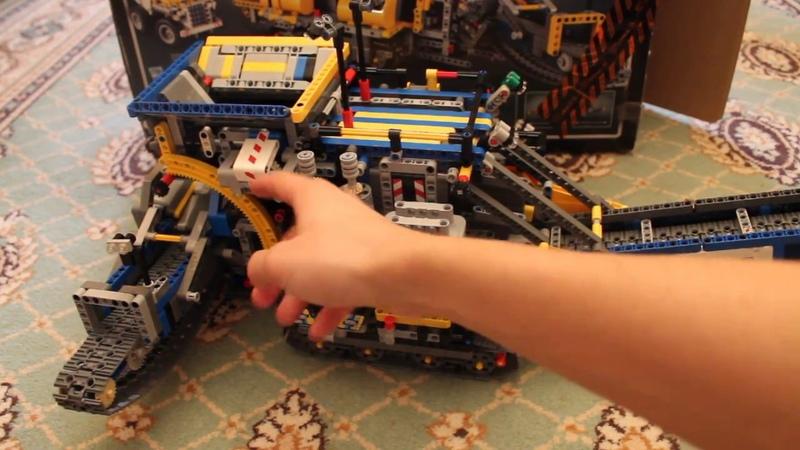 Хроники лего техник N15 Б модель 42055 без актуаторов