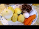 Запеканка картофельно - чечевичная. Быстро и вкусно!