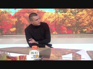 Павел Прилучный. Эксклюзивное интервью для первого канала.
