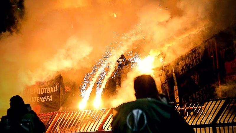 Crvena Zvezda CSKA Moscow 13 02 2018 Delije Ultras CSKA ULTRAS AVANTI